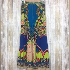 Flying Tomato Palazzo Floral Wide Leg Pant Med